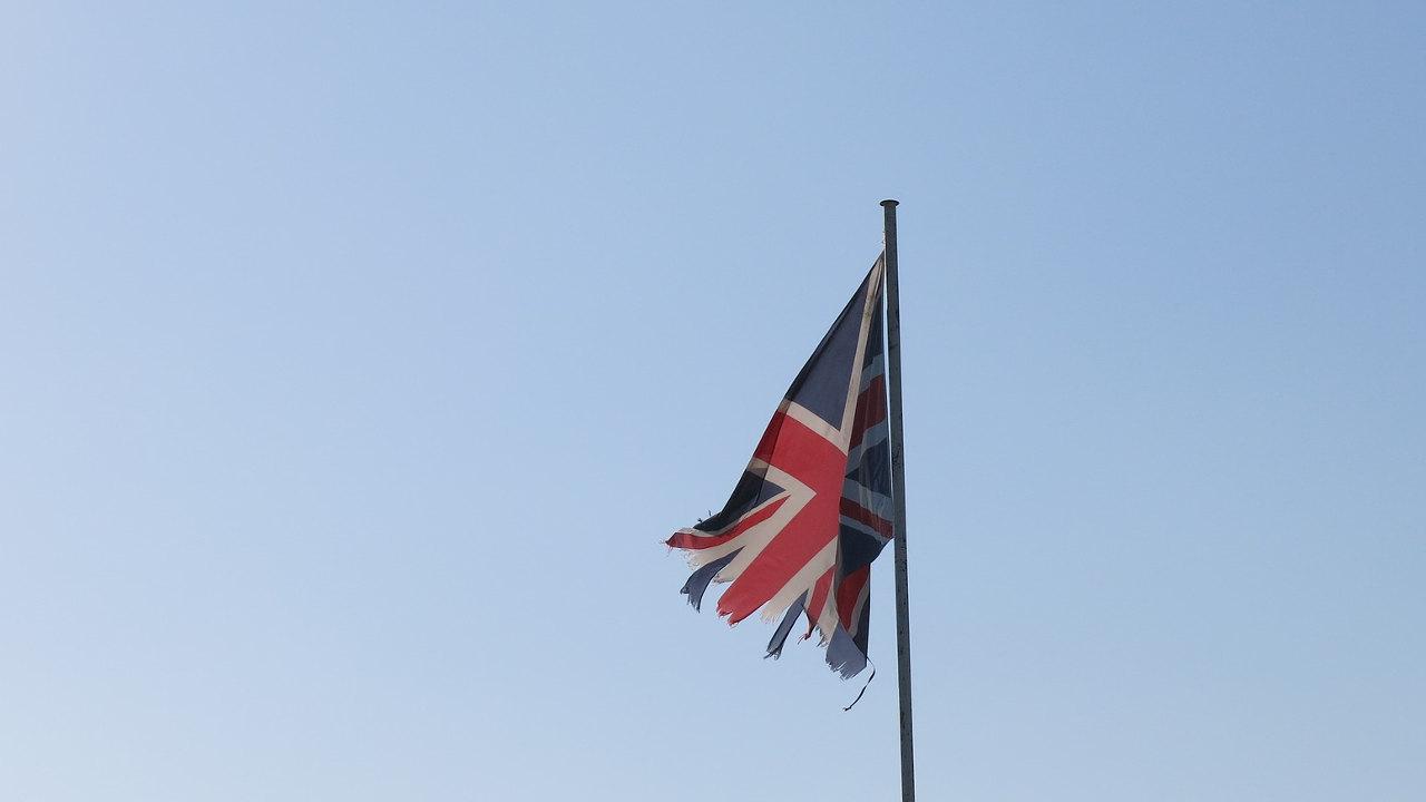 Flagge Großbritannien Union Jack Brexit