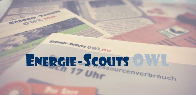 Energie-Scouts-OWL 2018 - Plakate Wettbewerb Ressourcenschutz